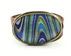 Iris Designs Artistic Belt Buckle