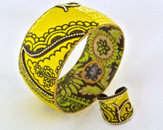 Iris Designs Suns Mango Bangle