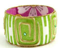 Iris Designs Green Loop Bangle