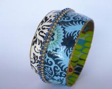 Iris Designs Cracked Symmetry Bangle