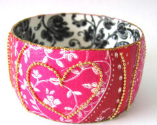 Iris Designs Valentine Bangle