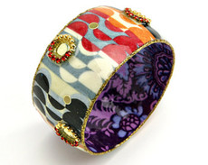Iris Designs Purple Dream Bangle