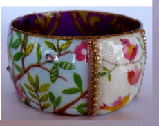 Iris Designs Cotton Candy Bangle