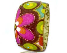 Iris Designs Masked Flower Bangle