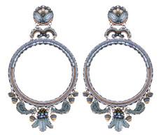 Ayala Bar Blue Velvet Elegant Gal Earrings