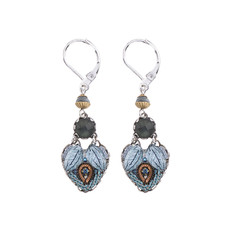 Ayala Bar Blue Velvet Love Matters Earrings