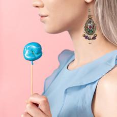 Ayala Bar Magical Mystery Feeling Alive Earrings