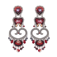 Ayala Bar Ruby Love Red Light Love Earrings