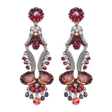 Ayala Bar Ruby Love Kiss Me Earrings