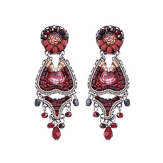 Ayala Bar Ruby Love Sudden Moves Earrings