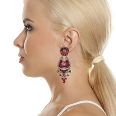 Ayala Bar Ruby Love Sudden Moves Earrings