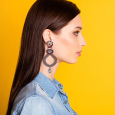 Ayala Bar Red Rock Firey Night Earrings
