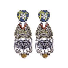 Ayala Bar Butterfly Wings Heart of Marigold Earrings