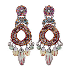 Ayala Bar Coral Cave Speechless Earrings