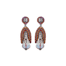 Ayala Bar Coral Cave City Girl Earrings