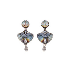 Ayala Bar Marble Beach Passion Flower Earrings