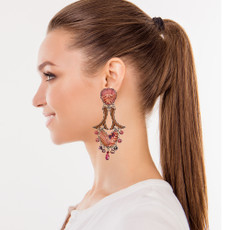 Ayala Bar Soul Fire Falling Leaves Earrings