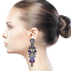Ayala Bar Rain Forest Lean on Me Earrings