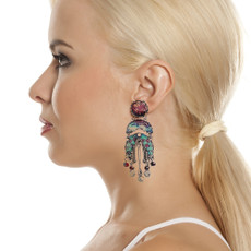 Ayala Bar Blue Note Speechless Earrings