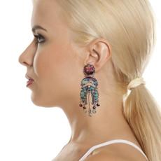 Ayala Bar Blue Note Speechless Earrings