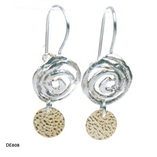 Dganit Hen Small Spiral Earrings