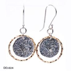 Dganit Hen Tree Earrings