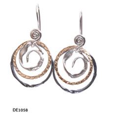 Dganit Hen Big Spiral Earrings