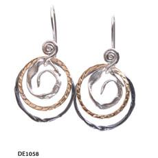 Dganit Hen Big Spiral Earrings