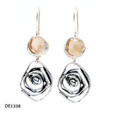Dganit Hen Rose Earrings