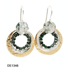 Dganit Hen Chrysanthemum Earrings
