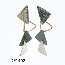 Dganit Hen Skirt Earrings