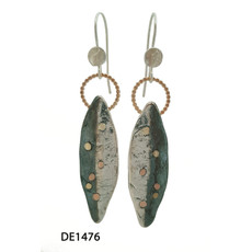 Dganit Hen Beetle Earrings