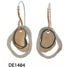 Dganit Hen Flat RGF Earrings