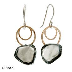 Dganit Hen Trapezoid Earrings