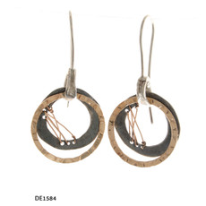 Dganit Hen Weaving Earrings