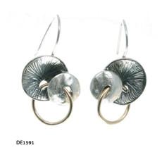 Dganit Hen Mushroom Earrings