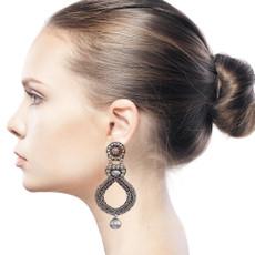 Ayala Bar Indigo Galileo Earrings