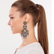 Ayala Bar Indigo Seaside Earrings