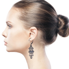 Ayala Bar Indigo Keep the Evil Away Earrings