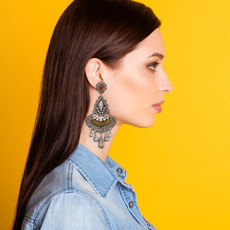 Ayala Bar Indigo The Milky Way Earrings