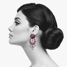 Ayala Bar Red Rock Who Shot Cupid Earrings