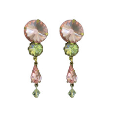 Michal Negrin Crystal Rock Earrings