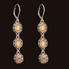 Michal Negrin Sterling 925 Silver Hope Earrings