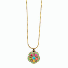Michal Negrin Jade Multi Sparkle Necklace