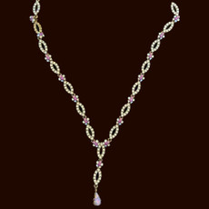 Michal Negrin Endless Crystals Necklace