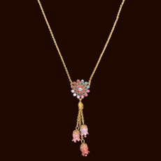 Michal Negrin Elegant Bell Designs Necklace