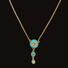 Michal Negrin Dazzle Dreams Turquoise Necklace