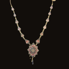 Michal Negrin Mosiac Flower Necklace