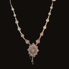 Michal Negrin Mosiac Flower Necklace