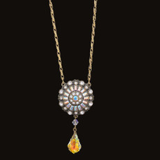 Michal Negrin Crystal Ball Beads Necklace